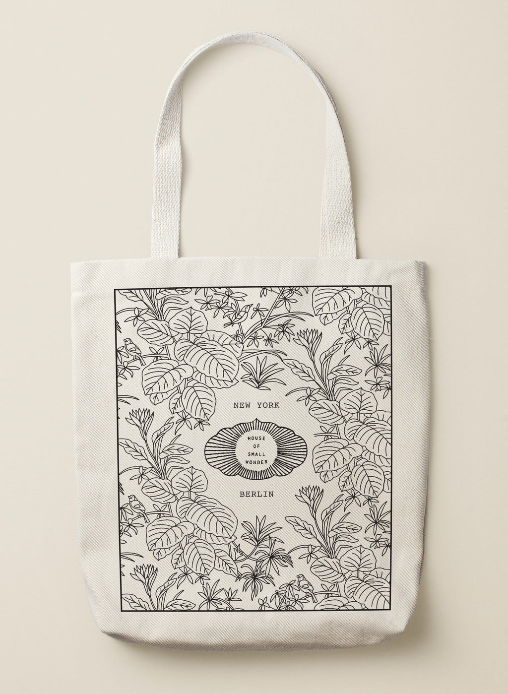 HOUSE OF SMALL WONDER TOTE BAG