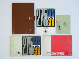 Ferrari 275 gtb/4 manual pouch