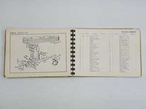 1958 Ferrari 250 GT Inside Plug Chinetti Owner's Manual Handbook Parts