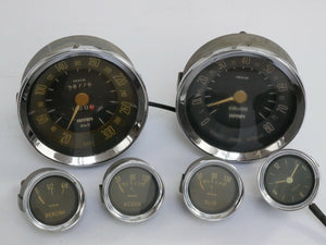ferrari 250 gauges