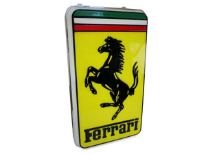 1970's Ferrari Dealership Illuminated Sign