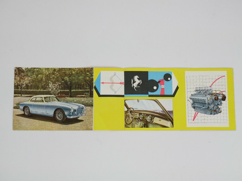 Ferrari 250 Europa 375 MM Sales Brochure