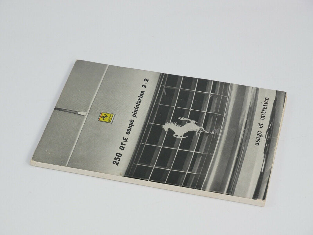 Ferrari 250 GT Owner's Manual Handbook