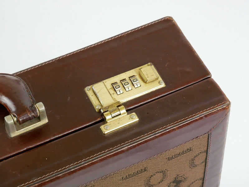 Ferrari Vintage Luggage Briefcase