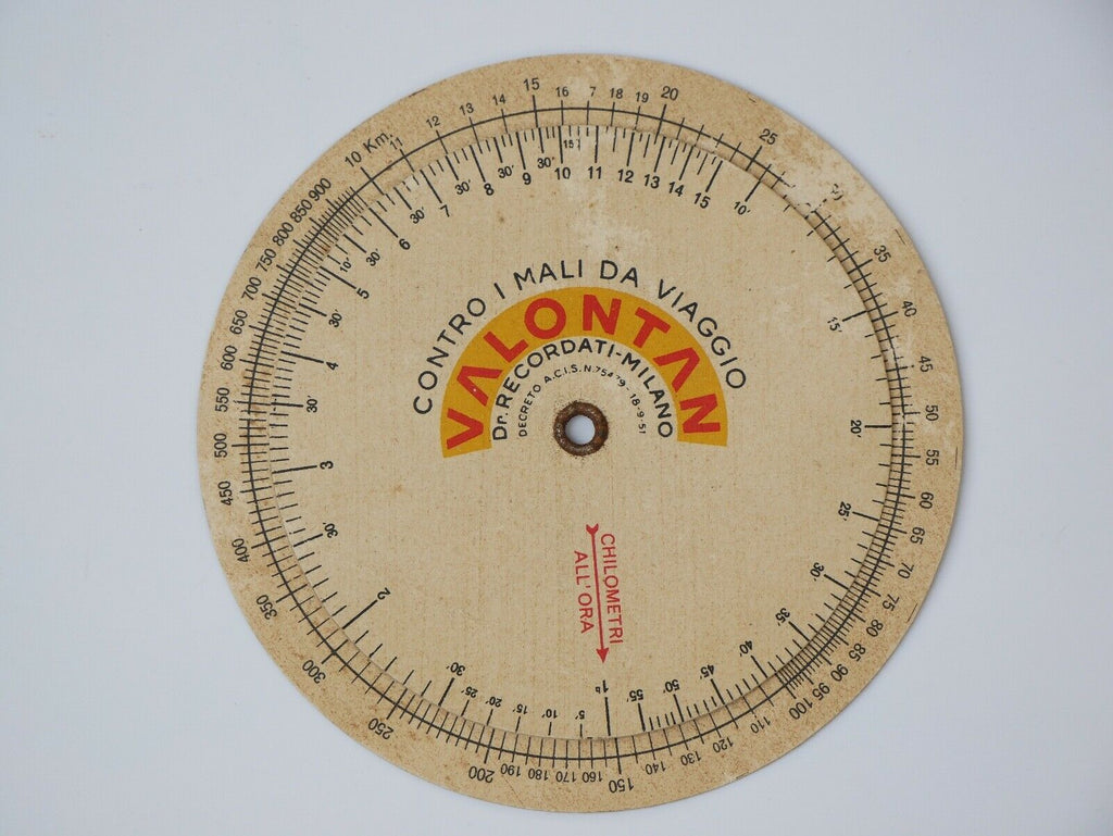 Ferrari Valontan Average Speed Gauge