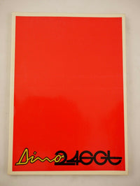 1974 Ferrari 246 GT Dino 07528 Owner's Manual Pouch Set