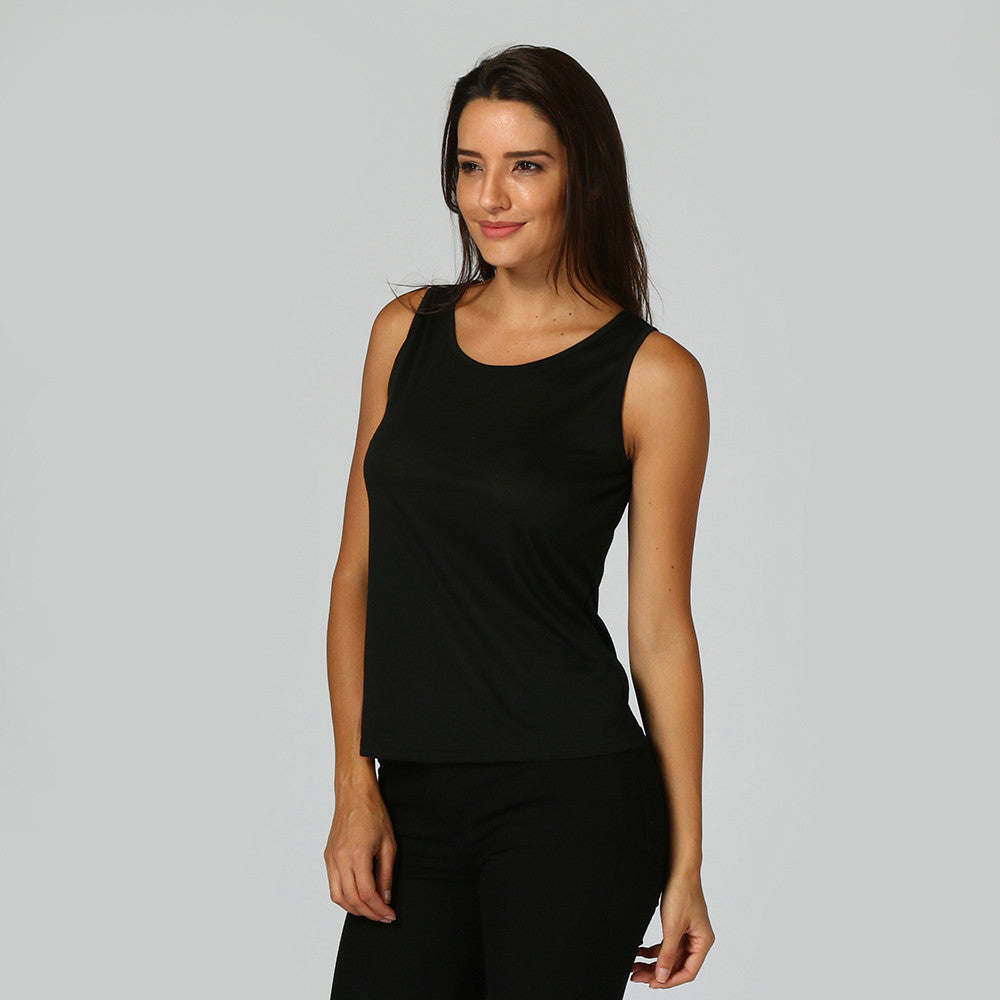c05a01ce581365 Sleeveless Solid Backless Blouse – Hair2Toe.Ca