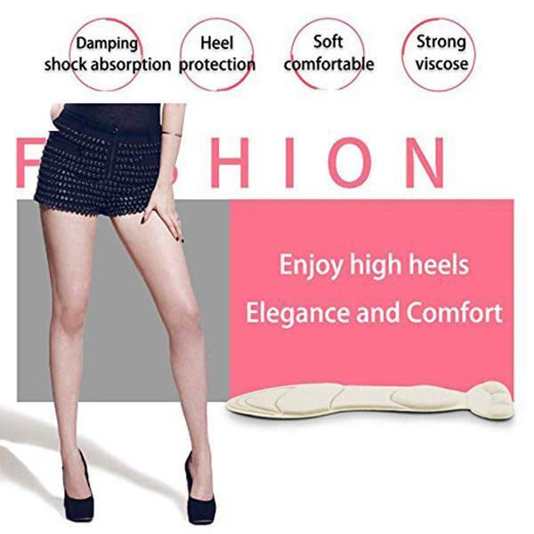 2 In 1 Soft Massage Anti-pain High Heel Pad - mftale
