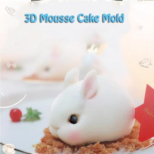 3D Mousse Pudding Mold - mftale