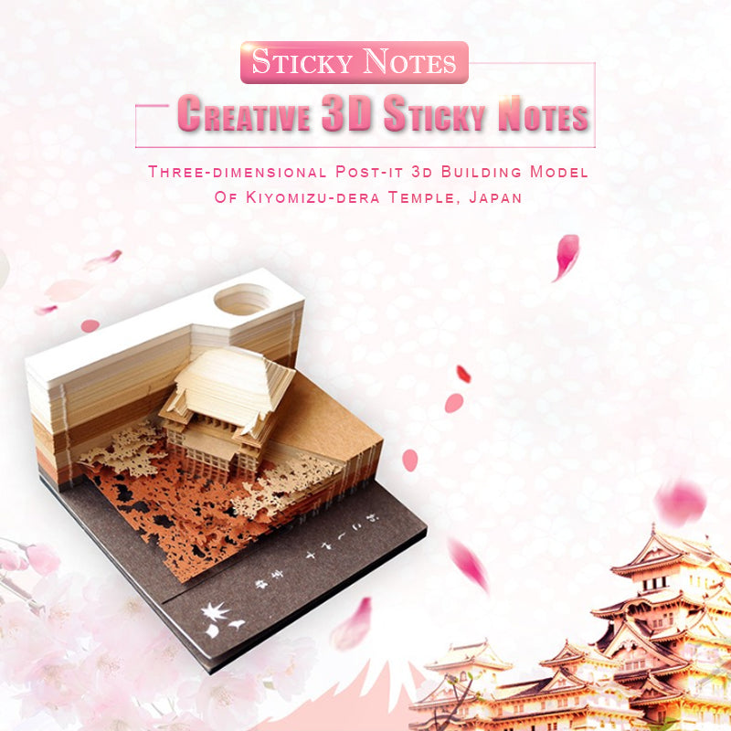 Creative 3D Sticky Notes - mftale