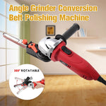 Angle Grinder Conversion Belt Polishing Machine - mftale