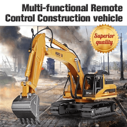 Multi-functional Remote Control Construction vehicle - mftale