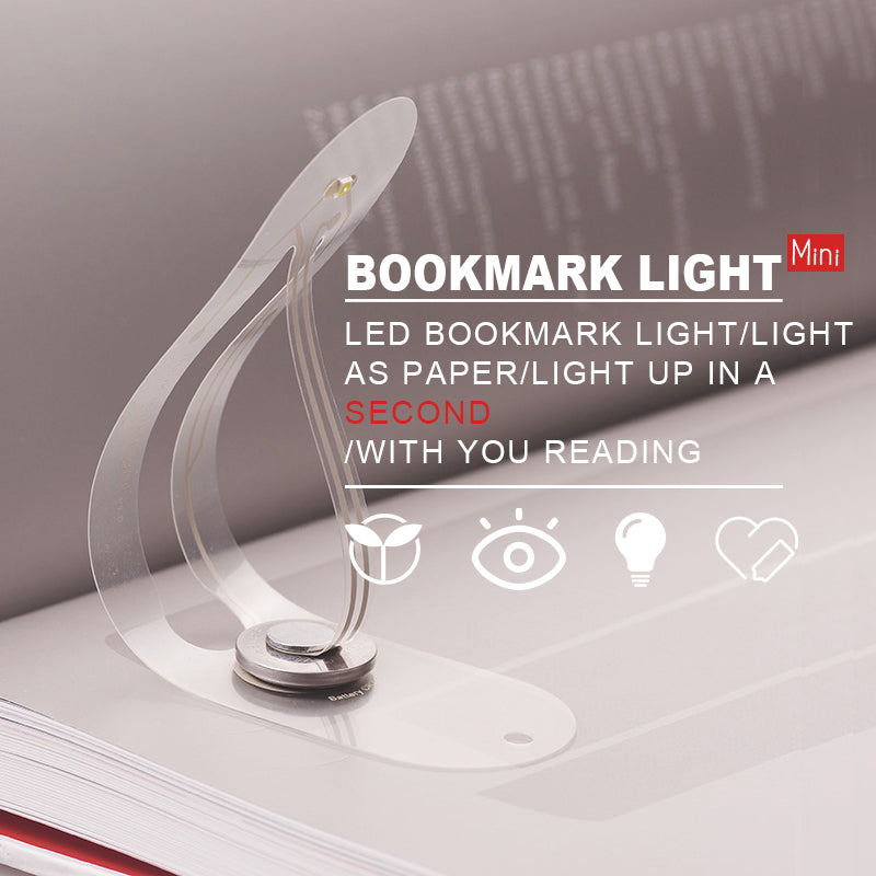 LED night light bookmark light - mftale
