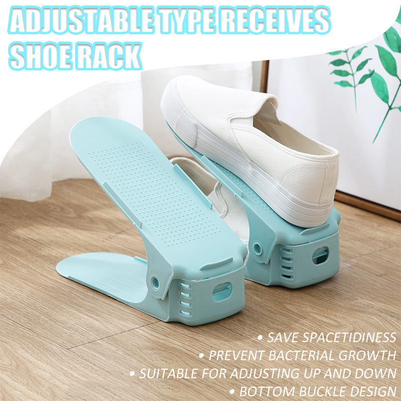 Adjustable Type Receives Shoe Rack - mftale