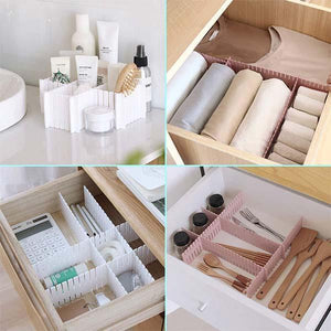 4pcs DIY Drawer Division Board - mftale