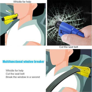 Car Safety Multifunctional Window Breaker - mftale