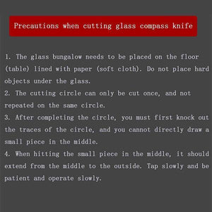 Household Professional Glass Cutter - mftale