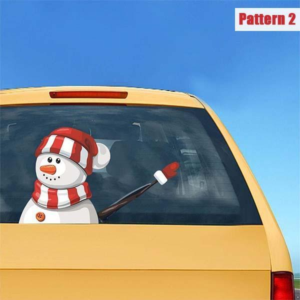 Santa Claus Wiper Car Stickers - mftale