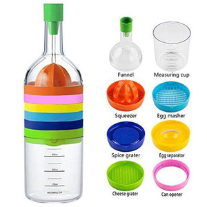 8 in 1 Multipurpose Kitchen Bottle - mftale