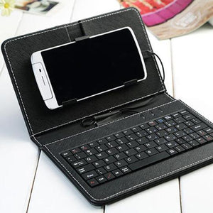 Universal Compact Clamshell Keyboard - mftale