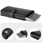 Carbon Fiber RFID Card Holder - mftale