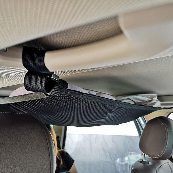 Car Roof Handle Storage Net - mftale