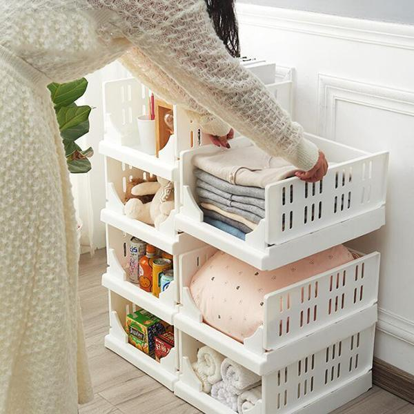 Folding Bin For Household Clothes - mftale