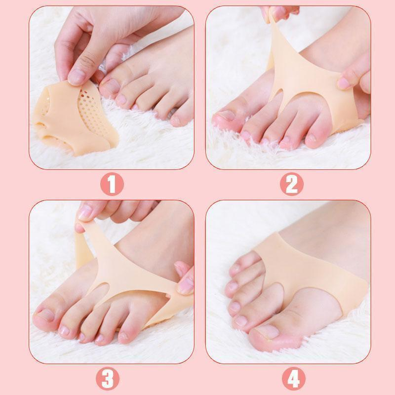 Silicone Honeycomb Forefoot Pad - mftale