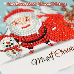 Christmas Card Diamond Picture - mftale