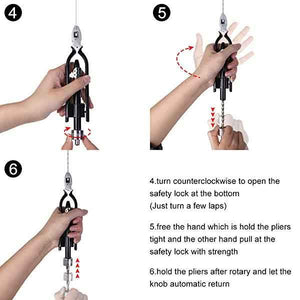 Stainless Steel Safety Wire Pliers - mftale