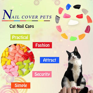 Cat Nail Caps(20 pcs) - mftale