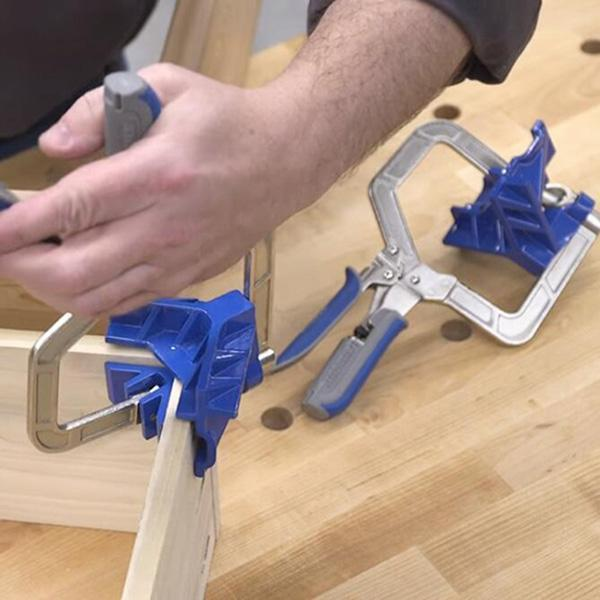 90 Degree Angle Carpenter's Clamp - mftale