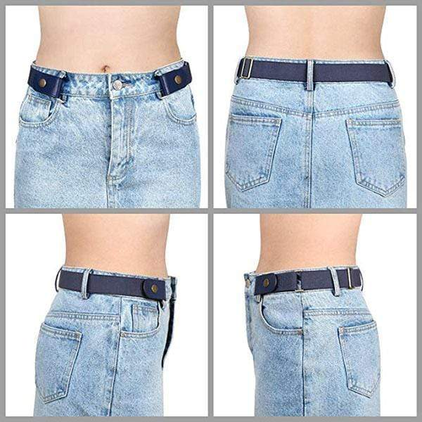 🎅 Christmas promotion (50%OFF!!) Buckle-free Invisible Elastic Waist Belts - mftale