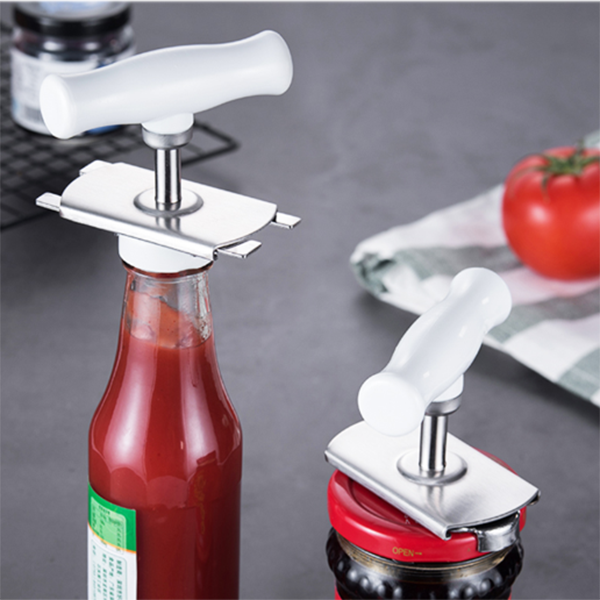 Stainless Steel Lids Off Jar Opener - mftale