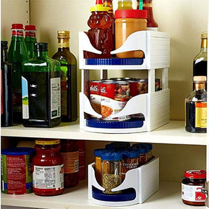 Kitchen Rotating Storage Organizer - mftale