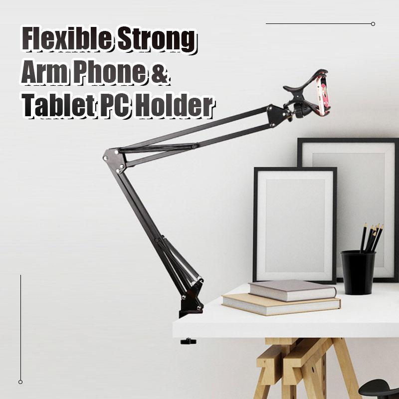 Flexible Strong Arm Phone & Tablet PC Holder - mftale