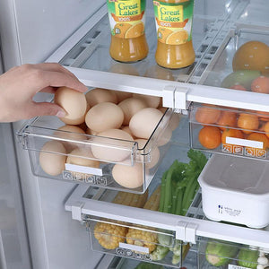 Retractable Refrigerator Storage Drawer - mftale