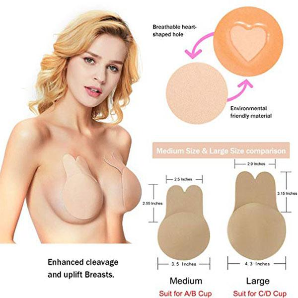 Self-adhesive Silicone Bra Breast Lift Belt - mftale