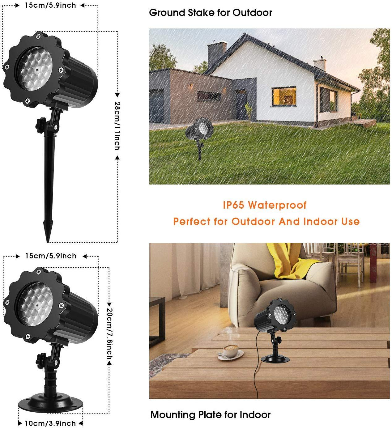 Outdoor Festival Projection Lamp - mftale