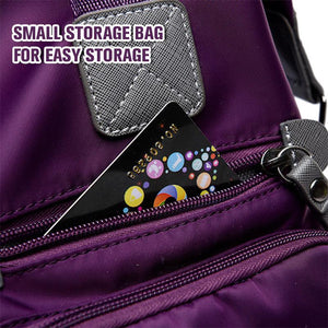 Fashion ladies nylon shoulder portable multi-function travel bag - mftale