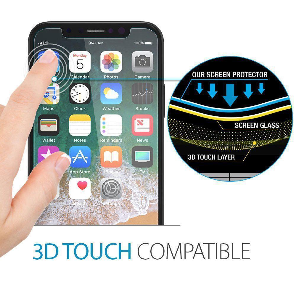 2.5D Tempered Glass for iphone 8/8 Plus/X - mftale