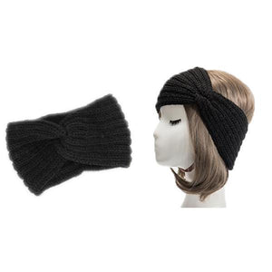 Ear Warmer Knitted Headband - mftale