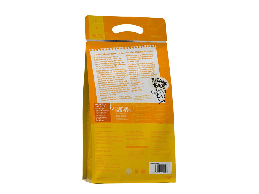 20% OFF ⏰ MEOWING HEADS<br>GRAIN FREE Fat Cat Slim<br>Dry Cat Food
