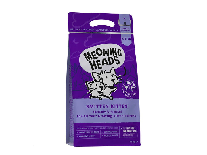 20% OFF ⏰ MEOWING HEADS<br>Smitten Kitten<br>Dry Cat Food