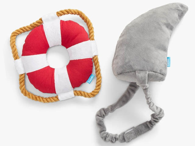 BARK<br>Great White Bark Bundle<br>Dog Costume + Plush Toy