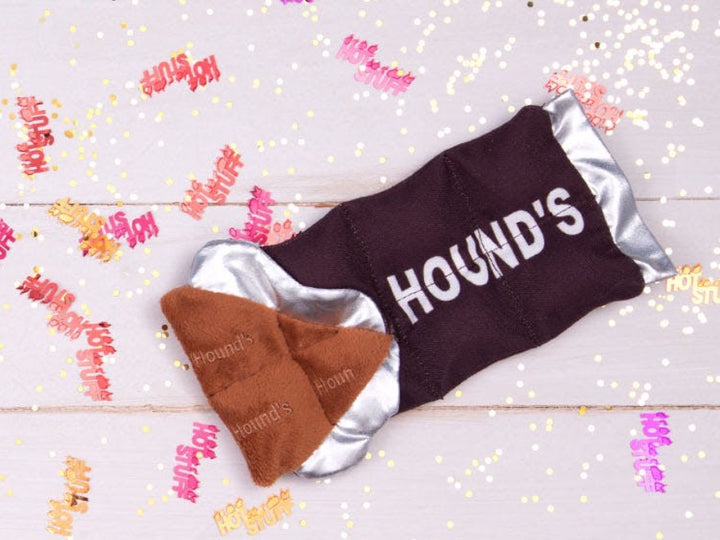 BARK<br>Hound's Choco-Lick Bar<br>Dog Plush Toy