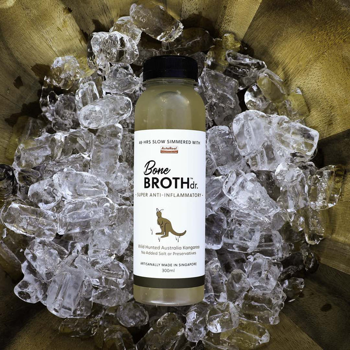 BONE BROTH DR.<br>Wild Hunted Aussie Kangaroo<br>Anti-Inflammatory Pet Frozen Broth<br>⭐️ 10 FOR $109 ⭐️