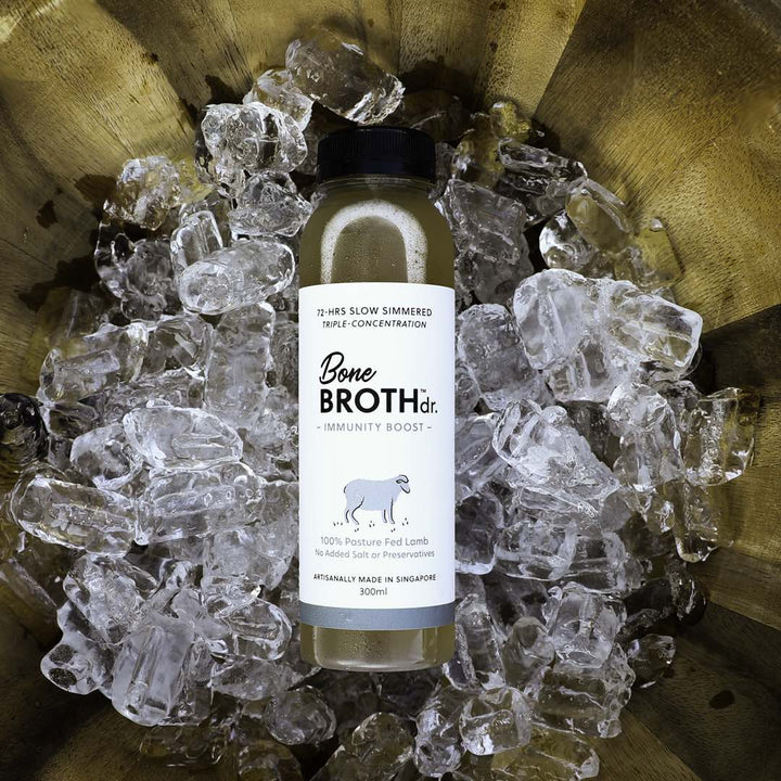 BONE BROTH DR.<br>Pasture Fed Aussie Lamb<br>Immunity Boost Dog/Cat Frozen Broth<br>⭐️ 10 FOR $115 ⭐️
