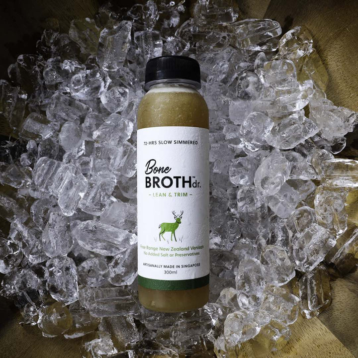 BONE BROTH DR.<br>Free Range NZ Venison<br>Lean & Trim Dog/Cat Frozen Broth<br>⭐️ 10 FOR $145 ⭐️