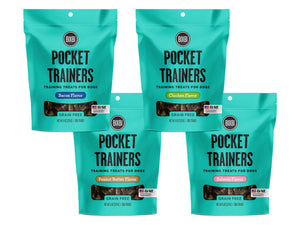 15% LAUNCH ⏰ BIXBI<br>Grain Free Pocket Trainers<br>Soft & Chewy Dog Training Treats